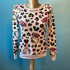 Hello Kitty women's fleece sweatshirt size small